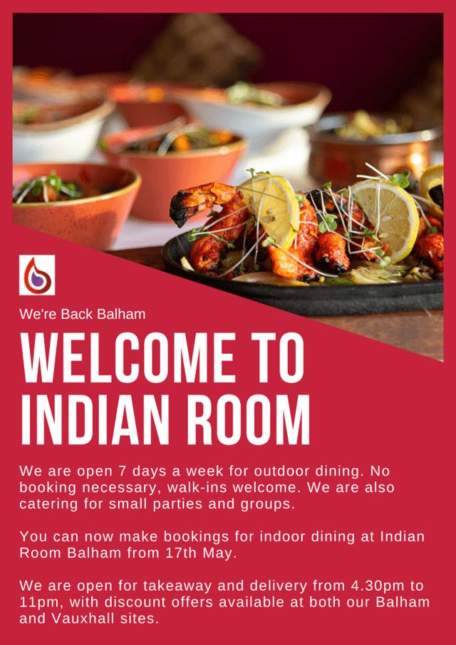Indian Restaurant Clapham Battersea